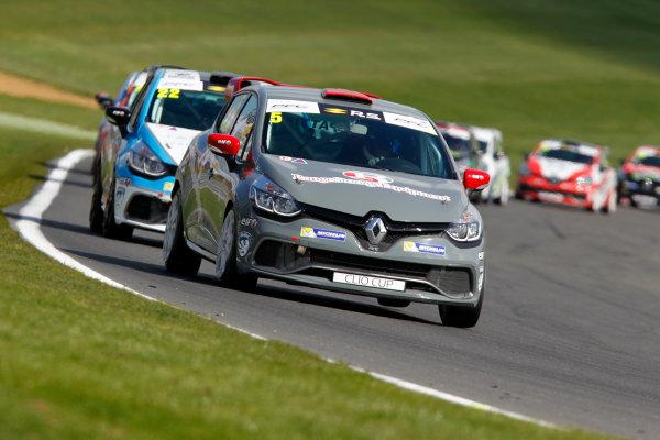 2017 Renault Clio Cup Brands Hatch, 1st-2nd April 2017 Lee Pattison  World Copyright. JEP/LAT Images