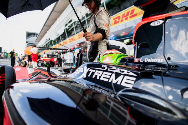 2017 FIA Formula 2 Round 9. Autodromo Nazionale di Monza, Monza, Italy. Friday 1 September 2017. Louis Deletraz (SUI, Rapax).  Photo: Zak Mauger/FIA Formula 2. ref: Digital Image _56I6450