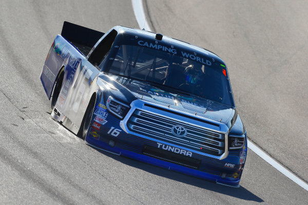 NASCAR Camping World Truck Series Las Vegas 350 Las Vegas Motor Speedway, Las Vegas, NV USA Saturday 30 September 2017 Ryan Truex, Toyota Tundra World Copyright: Russell LaBounty LAT Images