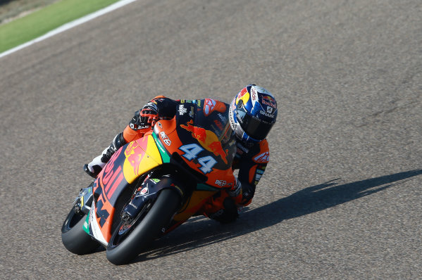 2017 Moto2 Championship - Round 14 Aragon, Spain. Saturday 23 September 2017 Miguel Oliveira, Red Bull KTM Ajo World Copyright: Gold and Goose / LAT Images ref: Digital Image 694283