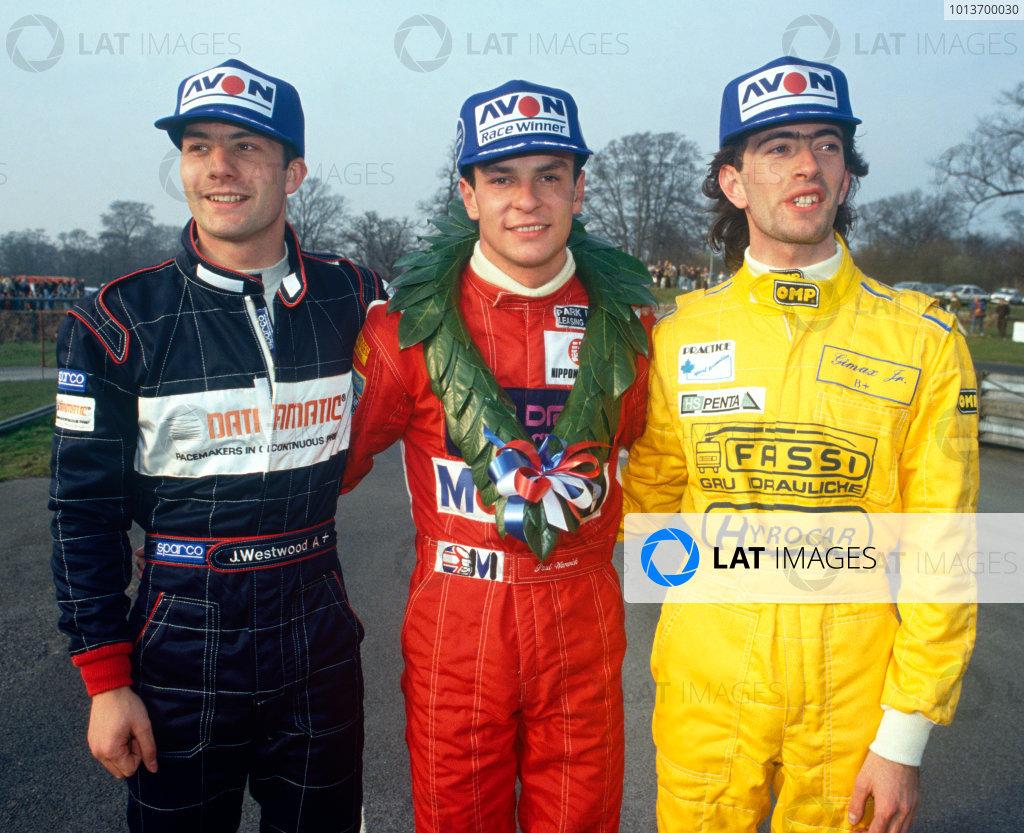 1991 British Formula 3000 Championship.