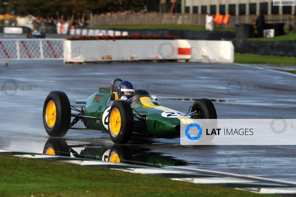 Goodwood Estate, West Sussex, 15th - 18th September 2011 Glover Trophy Andy MIDDLEHURST, Lotus-Climax 25, 1st position, action.  World Copyright:Jeff Bloxham/LAT Photographic Ref: Digital Image