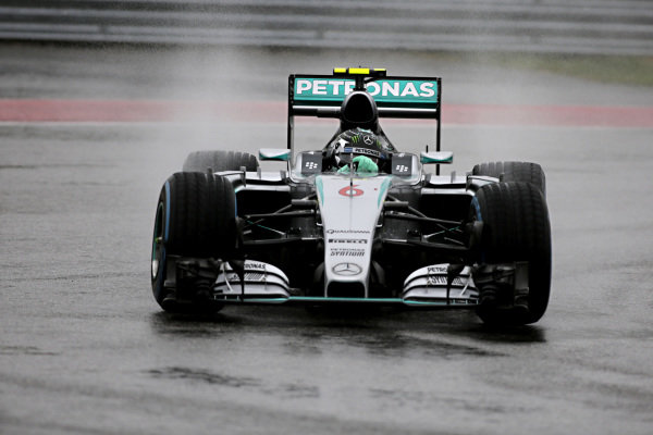 Nico Rosberg (GER) Mercedes AMG F1 W06 at Formula One World Championship, Rd16, United States  Grand Prix, Qualifying, Austin, Texas, USA, Sunday 25 October 2015.