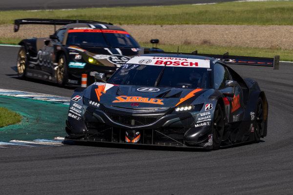GT500 Winner Naoki Yamamoto & Tadasuke Makino, Stanley Team Kunimitsu, Honda NSX-GT GT500