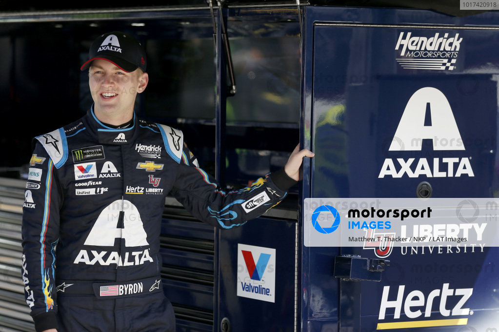 #24: William Byron, Hendrick Motorsports, Chevrolet Camaro Axalta