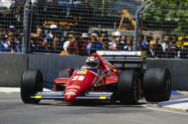 Stefan Johansson, Ferrari F1/86.