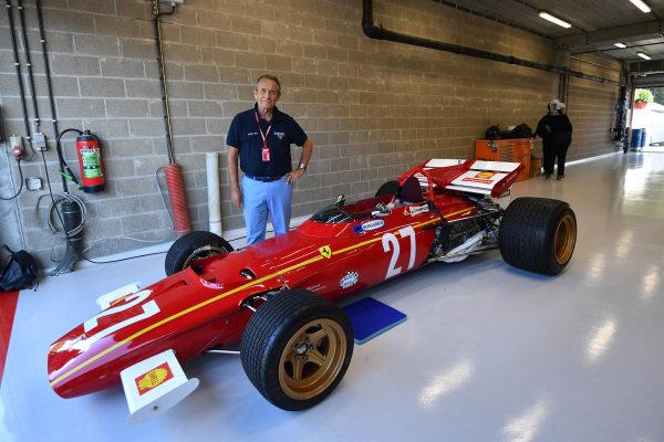 Jacky Ickx with Ferrari 312B