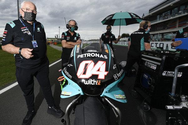 Andrea Dovizioso, Petronas Yamaha SRT.