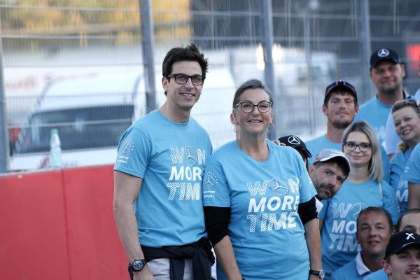 Toto Wolff, Mercedes Benz Motorsport director