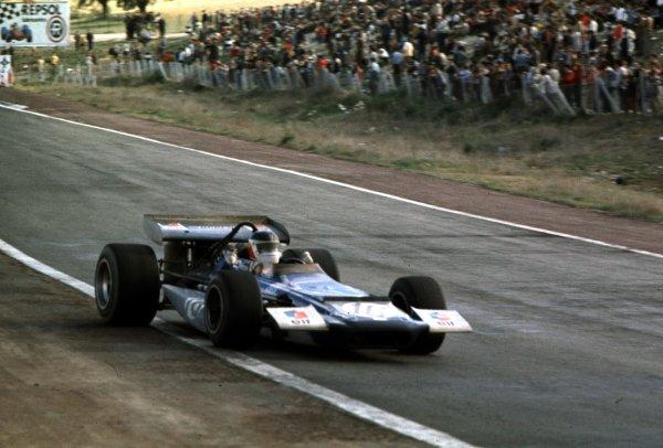1970 Spanish Grand Prix.Jarama, Madrid, Spain.17-19 April 1970.Johnny Servoz-Gavin (March 701 Ford) 5th position.World Copyright - LAT Photographic