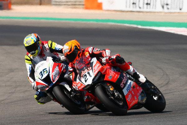 Michael Ruben Rinaldi, Aruba.it Racing-Ducati SBK Team, Leandro Mercado, Orelac Racing Team.