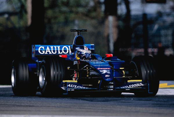 2000 San Marino Grand Prix.Imola, Italy. 7-9 April 2000.Nick Heidfeld (Prost AP03 Peugeot).Ref-2K SM 74.World Copyright - Charles Coates/LAT Photographic