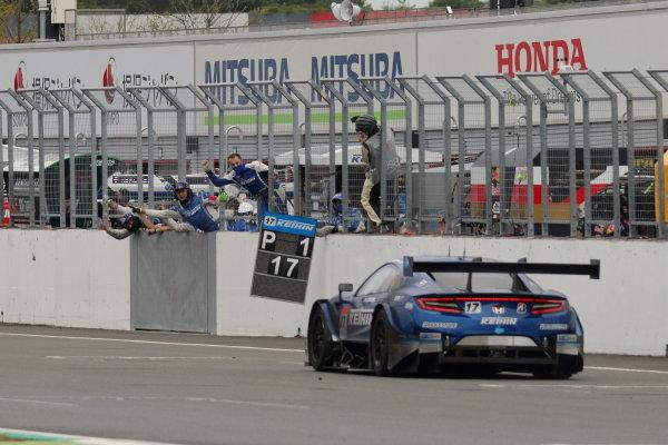 GT500 Winner Koudai Tsukakoshi & Bertrand Baguette ( #17 KEIHIN NSX-GT ) action