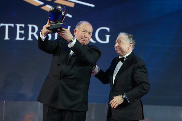 Jean Todt and Viktor Kiryanov