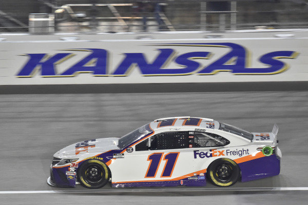 #11: Denny Hamlin, Joe Gibbs Racing, FedEx Office Toyota Camry