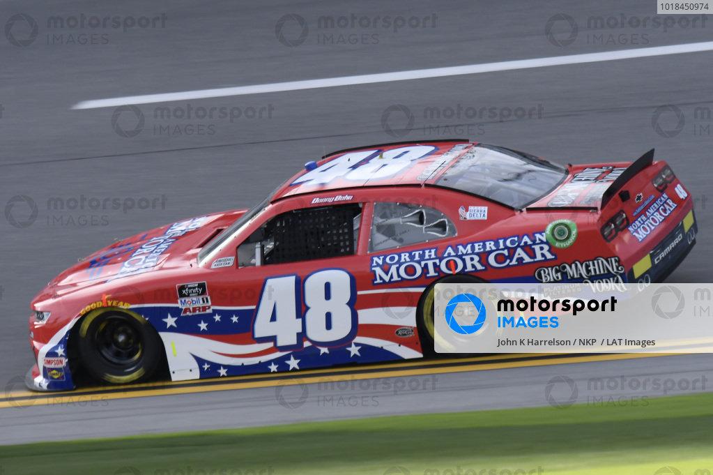 #48: Danny Bohn, Big Machine Racing, Chevrolet Camaro