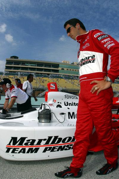 2003 IRL IndyCar Homestead, 2/28 - 3/2/2003, Homestead Miami Speedway, USAHelio Castroneves-2003, Michael L. Levitt, USALAT Photographic