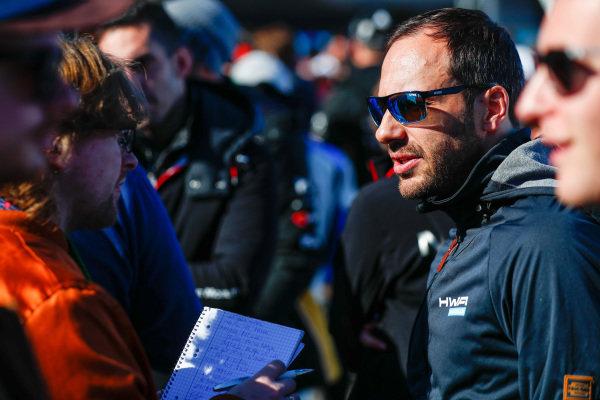 Gary Paffett (GBR), HWA Racelab, talks to the press