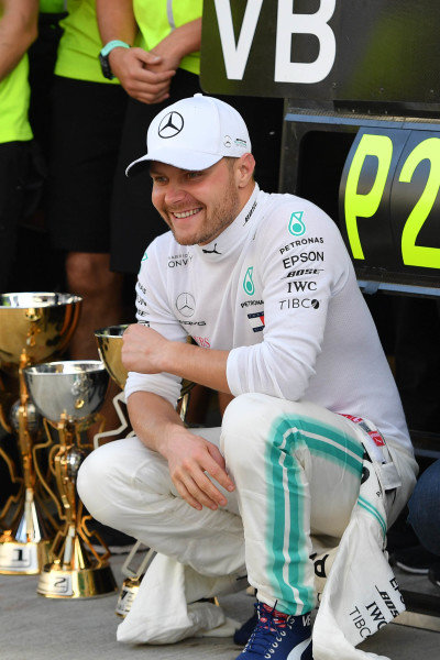 Valtteri Bottas, Mercedes AMG F1, 2nd position