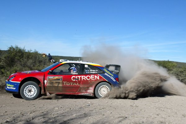2003 FIA World Rally Champs. Round Five, Argentina,  8th-11th May 2003 Colin McRae, Citroen, action. World Copyright: McKlein/LAT