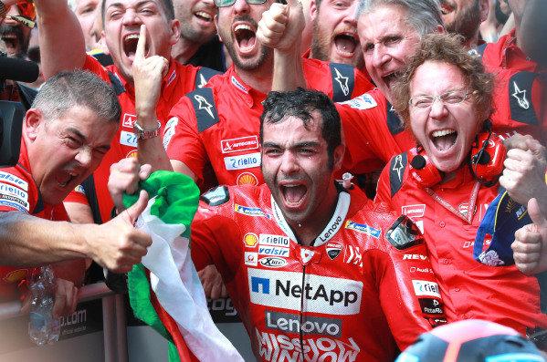 Race winner Danilo Petrucci, Ducati Team.