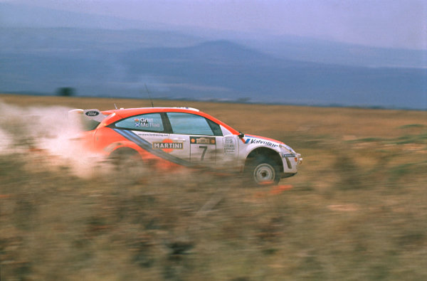 1999 World Rally ChampionshipSafari Rally, Kenya26-28 Feb 1999Colin McRae and Nicky Grist (Ford Focus WRC)1st Position.World Copyright LAT Photographic