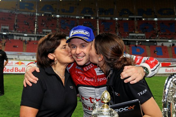 Rajamangala Stadium, Bangkok, Thailand 13th - 16th December 2012 Michelle Mouton and Tom Kristensen during the Race Of Champions World Copyright: IMP (USAGE FREE FOR EDITORIAL PURPOSES ONLY)