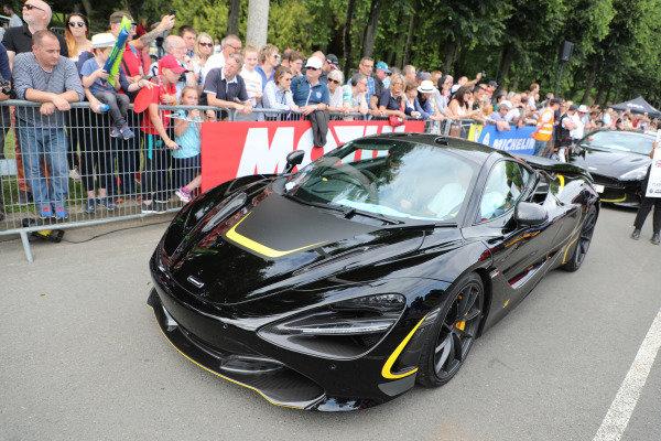 McLaren car.