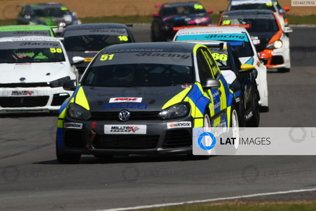 2015 Volkswagen Cup, Brands Hatch, Kent. 1st - 2nd August 2015.  Simon Andrews (GBR) AWM / Safe & Sound Golf GTI  World Copyright: Ebrey / LAT Photographic.