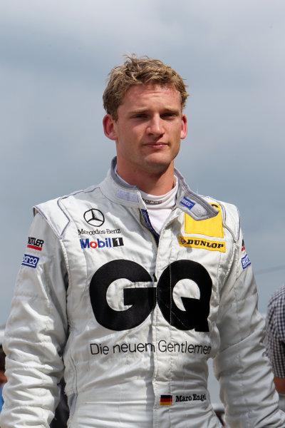 Maro Engel (GER), GQ AMG Mercedes.DTM, Rd7, Brands Hatch, England, 3-5 September 2010.World Copyright: LAT Photographicref: dne1004se259