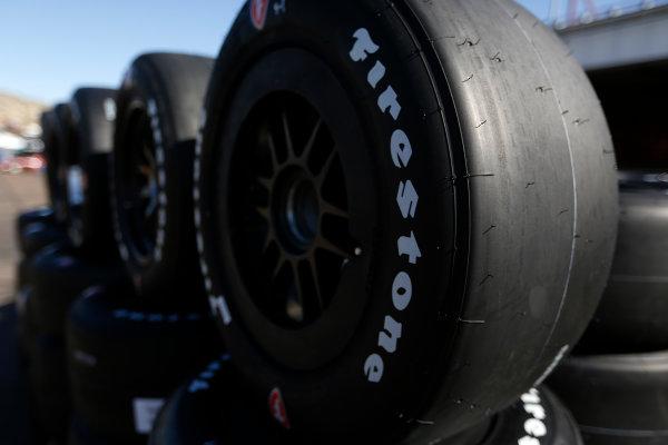 26-27 February, 2016, Avondale, Arizona USA Firestone tire detail ?2016, Phillip Abbott LAT Photographic