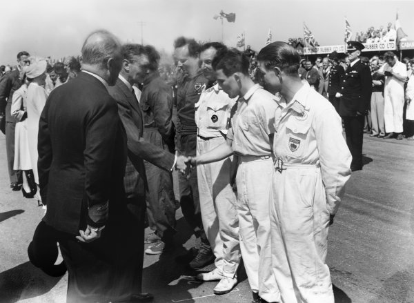 Silverstone, Great Britain. 13th May 1950.