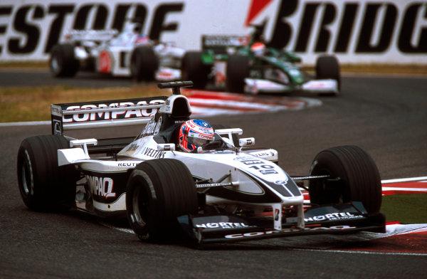 Suzuka, Japan.6-8 October 2000.Jenson Button (Williams FW22 BMW) 5th position.World copyright - LAT Photographic