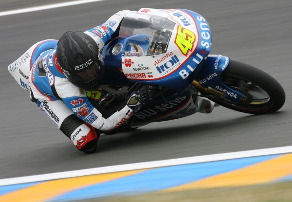 2008 MotoGP Championship.Le Mans, France. 15th - 18th May, 2008.Scott Redding Blusens Aprilia Junior 125cc .World Copyright: Martin Heath / LAT Photographic
