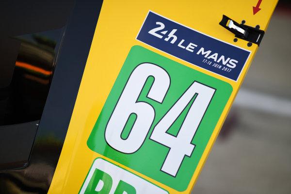 2017 Le Mans 24 Hours test day. Circuit de la Sarthe, Le Mans, France. Friday 2 June 2017 #64 Corvette Racing Corvette C7.R: Oliver Gavin, Tommy Milner, Marcel Fassler World Copyright: Rainier Ehrhardt/LAT Images ref: Digital Image 24LM-testday-re-0265