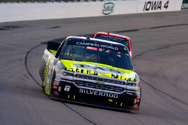 NASCAR Camping World Truck Series M&M?s 200 presented by Casey?s General Store Iowa Speedway, Newton, IA USA Friday 23 June 2017 John Hunter Nemechek, Fire Alarm Services/Romco Equipment Co. Chevrolet Silverado World Copyright: Russell LaBounty LAT Images