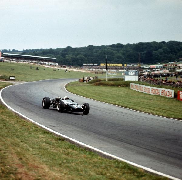 Brands Hatch, England.14-16 July 1966.John Surtees (Cooper T81 Maserati).Ref-3/2252.World Copyright - LAT Photographic