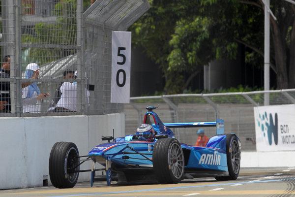 Putrajaya E-Prix, Race. Putrajaya E-Prix, Malaysia - 20th-22nd November 2014. Saturday 22 November 2014. A Felix Da Costa (POR)/Amlin Aguri - Spark-Renault SRT_01E  Photo: Michael Hoyer - Jakob Ebrey/LAT/ Formula E ref: Digital Image EL0G1070