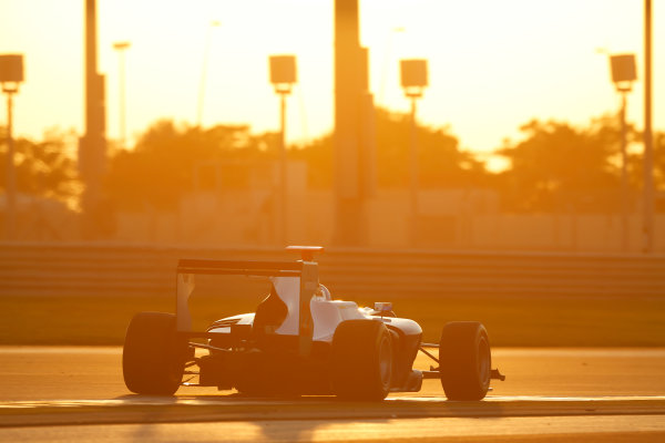 2014 GP3 Series Test 3.   Yas Marina Circuit, Abu Dhabi, United Arab Emirates. Saturday 29 November 2014. Ralph Boschung (SUI, Jenzer Motorsport)  Photo: Sam Bloxham/GP3 Series Media Service. ref: Digital Image _14P2974