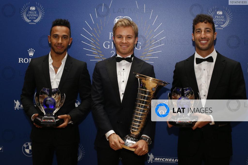 2016 FIA Prize Giving