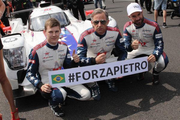 #21 Henrik Hedman / Ben Hanley / Nicolas Lapierre DRAGONSPEED M Oreca 07 - Gibson wish Pietro Fittipaldi get well soon