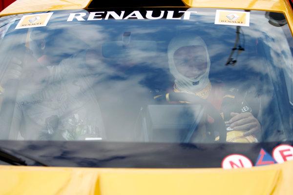 Hockenheimring, Hockenheim, Germany24th July 2010Robert Kubica, Renault R30, in a Renault Megane. Portrait. Atmosphere.World Copyright: Glenn Dunbar/LAT Photographicref: Digital Image _G7C1465