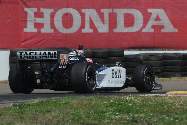 26-28 March 2010, St petersburg, Florida USA#77 Fasst Racing's Alex Tagliani.©Dan R. Boyd LAT Photographic USA