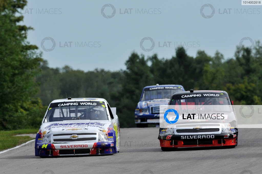30 August - 1 September 2013, Bowmanville, Ontario Canada Chase Elliott, Mike Skeen, Ross Chastain ©2013, Scott R LePage LAT Photo USA