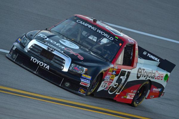 October 18-19, 2013, Talladega, Alabama USA Kyle Busch truck © 2013, Brian Czobat LAT Photo USA