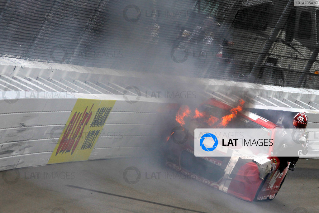 15-17 August, 2014, Brooklyn, Michigan USA Kyle Larson ?2014, Matthew T. Thacker LAT Photo USA
