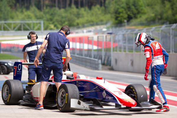 2016 GP3 Series Testing.  Spielberg, Austria. Red Bull Ring,  Wednesday 8th June 2016 . Giuliano Alesi (FRA, Trident).  Photo: Alastair Staley/GP3 Media Service  ref: 580A8998