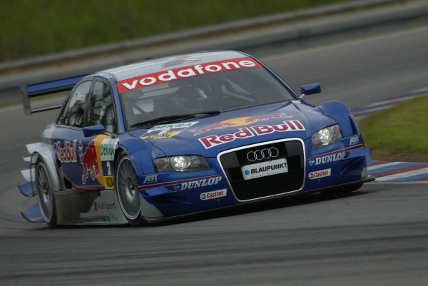 2005 DTM (German Touring Car) ChampionshipBrno, Czech Republic 4-5th June 2005 Martin Tomczyk (Abt Sportsline Audi A4) World Copyright: Andrew Ferraro/LAT Photographic Ref: Digital Image Only.