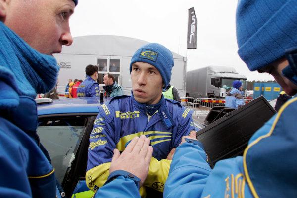 2005 FIA World Rally Champs. Round two Swedish Rally.10th-13th February 2005.Chris Atkinson, Subaru. portrait.World Copyright: McKlein/LAT