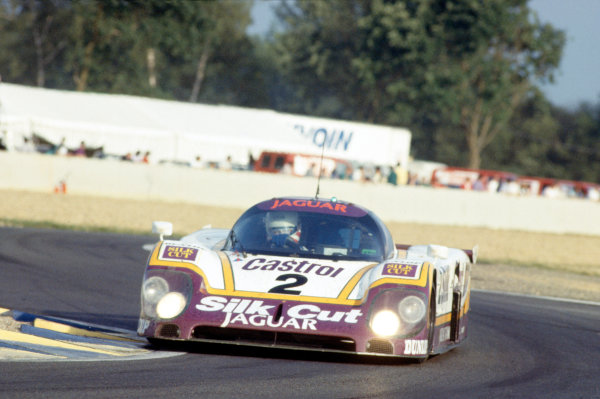 1989 Le Mans 24 HoursLe Mans, France. 10th - 11th June.John Nielsen/Andy Wallace/Price Cobb (Jaguar XJR-9LM).World Copyright: Murenbeeld/LAT Photographicref: 35mm Transparency Image